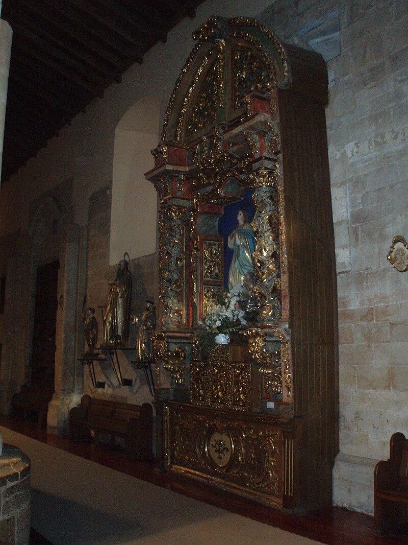 Retablo de la Inmaculada de la Iglesia de San Juan del Mercado.JPG