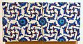 Revetment tiles, Turkey, Iznik, 1560-1570 AD, underglaze-painted fritware - Aga Khan Museum - Toronto, Canada - DSC06771.jpg