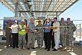 Ribbon cutting for new solar microgrid at Fort Hunter Liggett (7119710861).jpg