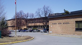 St. Laurent Boulevard - Rideau High School on St. Laurent Boulevard.