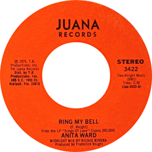 Ring My Bell - One of A-side labels of the U.S. 7-inch vinyl single