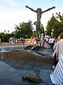 Risen Christ Statue, Medjugorje (5778638448).jpg