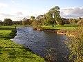 River Eamont from Brougham Castle Bridge, Brougham - Carleton, Penrith - geograph.org.uk - 274026.jpg