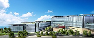 Speed of Life (TV series) - Hong Kong Civil Aviation Department Headquarters. Lantau Island, Hong Kong