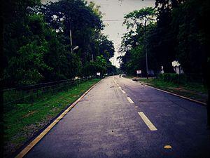 Roads in Varanasi Cantonment