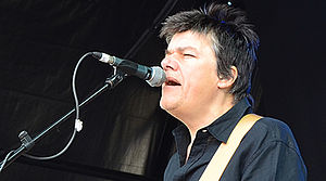The Blow Monkeys - Dr. Robert at Let's Rock Bristol in June 2014.  Photograph by Andrew D. Hurley.
