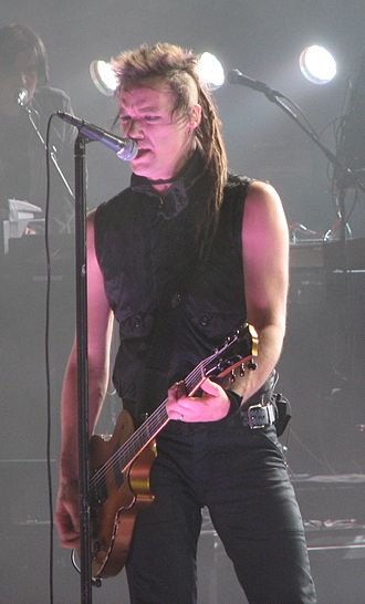 Robin Finck - Finck performing with Nine Inch Nails in 2008