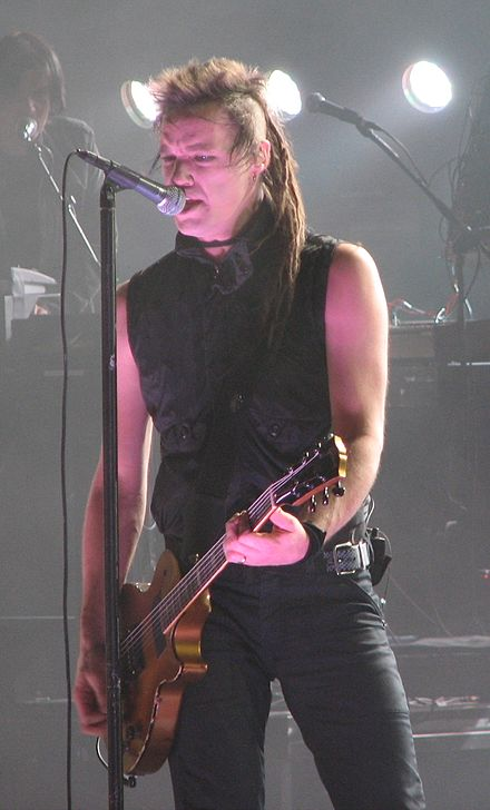 Finck performing with Nine Inch Nails in 2008 Robin Finck 2008 09 05.jpg