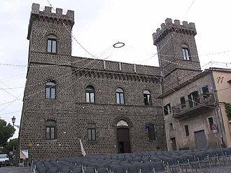 Roman Castles - The Savelli Castle in Rocca Priora