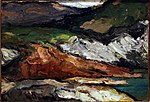 Rochers au bord de la mer, par Paul Cézanne, Carnegie Museum of Art.jpg