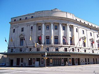 Eastman Theatre concert hall and theater in Rochester, New York, United States
