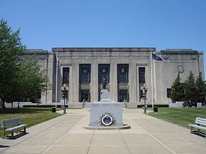 New City, New York - Rockland County Court House in New City