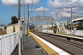 Rocklea railway station - Image: Rocklea Station 2017