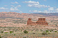 Rocks in Arches National Park as seen from La Sal Mountains Viewpoint 20110815 3.jpg