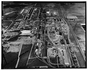 Rocky Mountain Arsenal - Rocky Mountain Arsenal, south plant. (photo 1970)