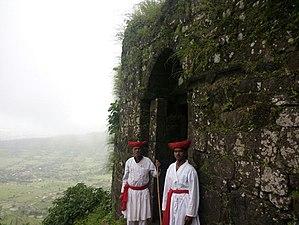 Rohida fort - Main gate of Rohida Fort