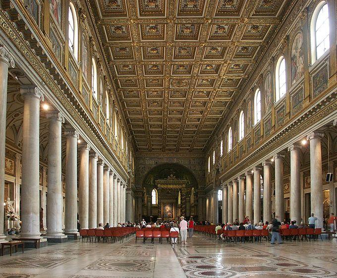 Rom, Basilika Santa Maria Maggiore, Innenansicht