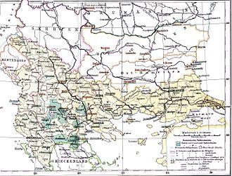 Megleno-Romanians - Romanian schools for Aromanians and Meglenoromanians in the Ottoman Empire (1886)