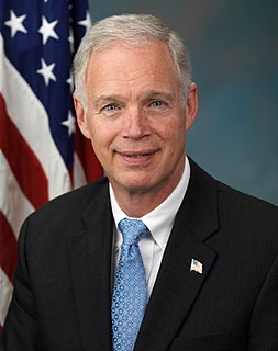 Ron Johnson (Wisconsin politician) United States Senator from Wisconsin