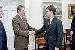 Ronald Reagan Greets John Roberts.jpg