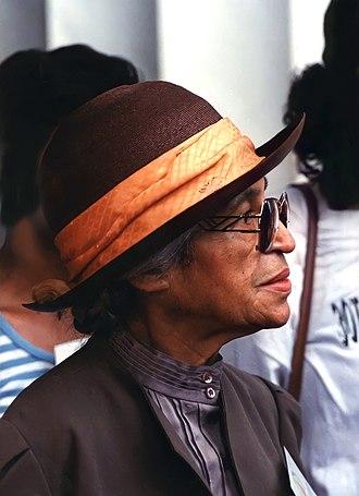 Rosa Parks - Parks in 1993