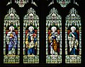Rosscarbery St Fachtna's Cathedral East Window Lower Lights 2017 08 30.jpg