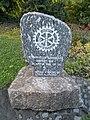 Rotary Club stone, Bela Square, 2016 Szekszard.jpg