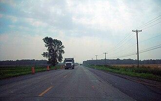 L'Épiphanie, Quebec (parish) - Image: Route 341 (L'Épiphanie)