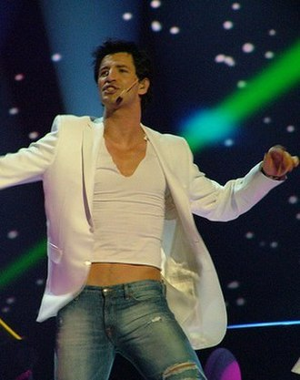 Greece in the Eurovision Song Contest 2009 - Sakis Rouvas, as seen at the Eurovision Song Contest 2004, was once again selected as the singer for Greece.