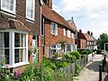 Row of cottages on the High Street, Cranbrook - geograph.org.uk - 878299.jpg
