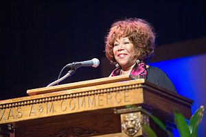 Ruby Bridges - Ruby Bridges speaking at Texas A&M University–Commerce in February 2015
