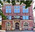 Rudolf-Steiner-Schule in Hamburg-Ottensen, Eingang.jpg