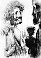 Rudolf Heinisch, Kreuzweg - X. Christus wird seiner Kleider beraubt, 1945.jpeg