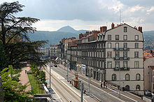 La rue Montlosier