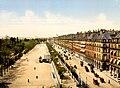 Rue de Rivoli et Jardin des Tuilleries, Exposition Universal, 1900, Paris, France.jpg