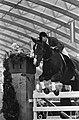Ruiter Schockemöhle tijdens een sprong op paard Exakt, Bestanddeelnr 918-3576.jpg
