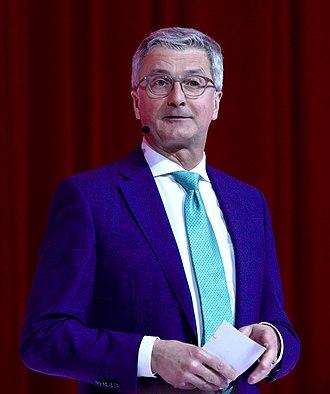Rupert Stadler - Stadler in 2018