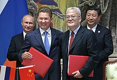 Russia and China sign major gas deal