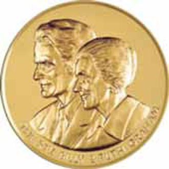 Ruth Graham - Image: Ruth and Billy Graham Congressional Gold Medal