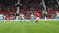 Ryan Giggs dribbles ball vs West Ham August 2010.jpg