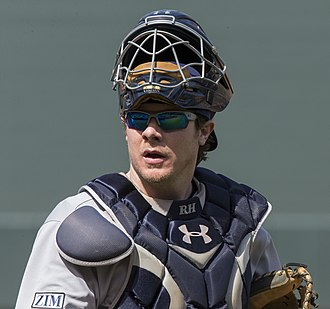 Ryan Hanigan - Hanigan during his tenure with the Tampa Bay Rays in 2014