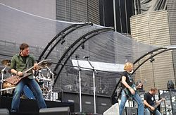 Nickelback in concerto (2006).
