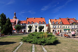 Żory Place in Silesian Voivodeship, Poland