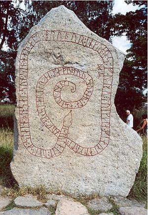 Caspian expeditions of the Rus' - The Gripsholm Runestone commemorates Scandinavians who died in the expedition of Ingvar the Far-Travelled.