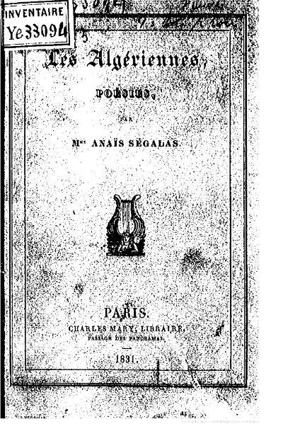 File:Ségalas - Les Algériennes, 1831.djvu