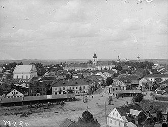 Słonim Ghetto - Image: Słonim, Rynak Rynkavaja. Слонім, Рынак Рынкавая (1920 29)