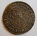 SAXONY, MEISSEN, FREDERICK II, 1323-49 -USA HALF DOLLAR SIZED SILVER COIN a - Flickr - woody1778a.jpg