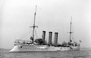 Light cruiser - SMS Bremen