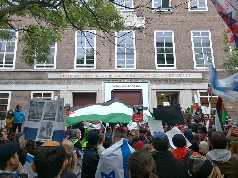File:SOAS BDS demonstration 27 April 2017 12.jpg