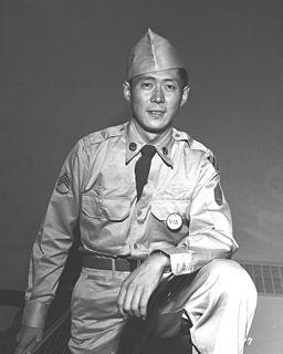 Hiroshi H. Miyamura United States Army Medal of Honor recipient